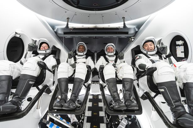 SpaceX Launch of Astronauts
